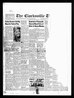 Primary view of object titled 'The Clarksville Times (Clarksville, Tex.), Ed. 1 Tuesday, March 15, 1938'.
