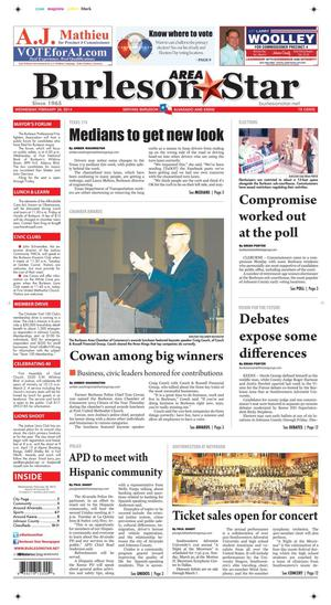 Burleson Area Star (Burleson, Tex.), Vol. 49, No. 36, Ed. 1 Wednesday, February 26, 2014