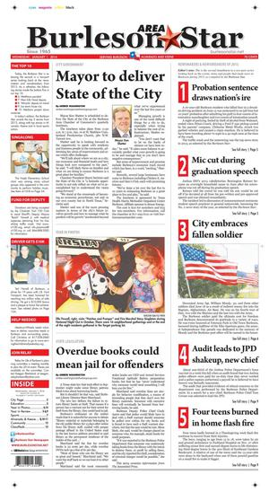 Burleson Area Star (Burleson, Tex.), Vol. 49, No. 20, Ed. 1 Wednesday, January 1, 2014