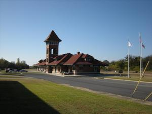 Primary view of object titled 'Union Station in Paris, Texas'.