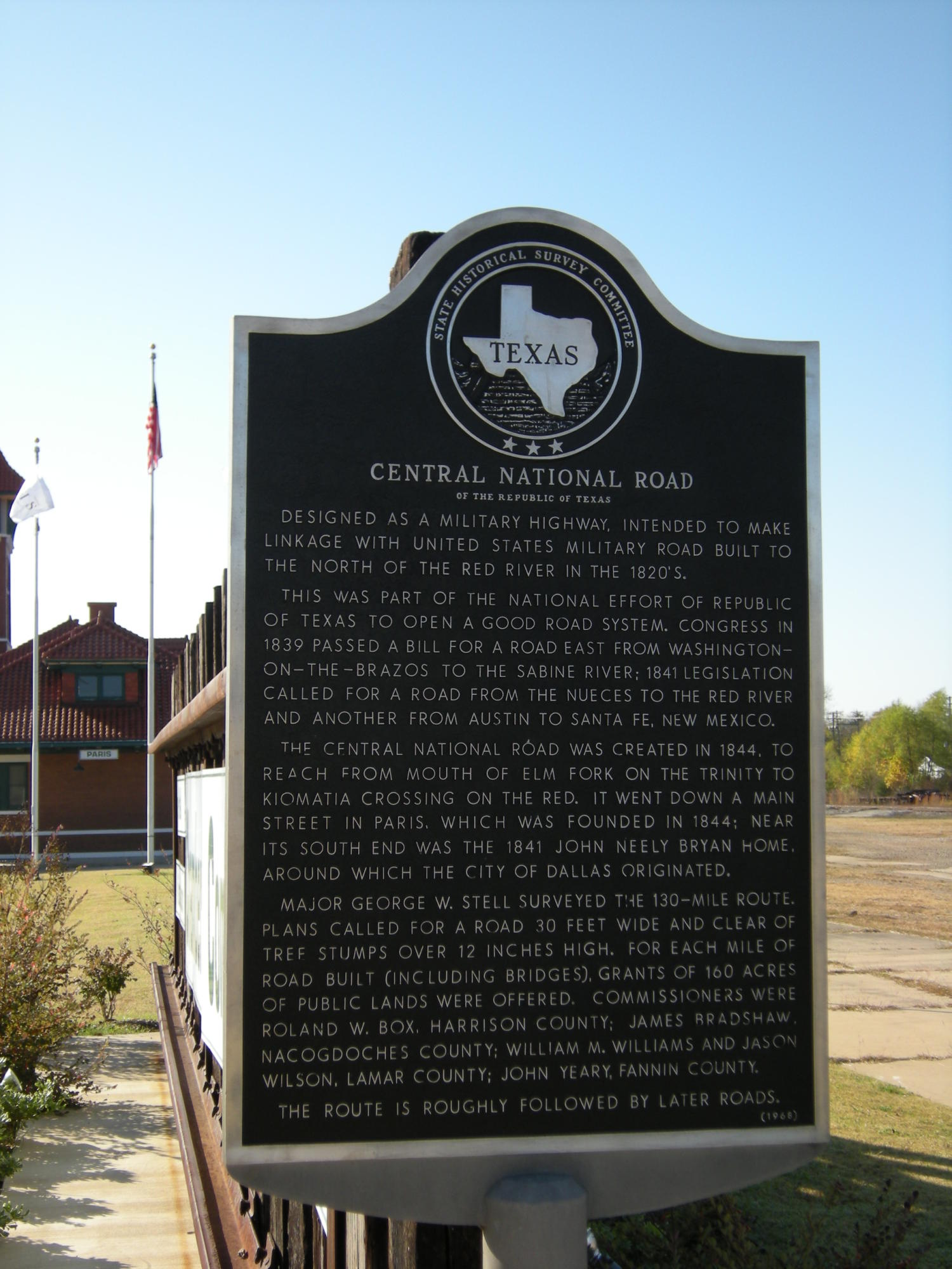 SHSC Historical Marker Central National Road 1844                                                                                                      [Sequence #]: 1 of 1