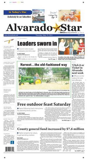 Alvarado Star (Alvarado, Tex.), Vol. 15, No. 36, Ed. 1 Thursday, May 19, 2011