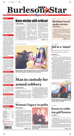 Burleson Area Star (Burleson, Tex.), Vol. 49, No. 28, Ed. 1 Wednesday, January 29, 2014