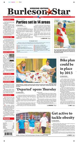 Burleson Star (Burleson, Tex.), Vol. 47, No. 97, Ed. 1 Sunday, September 30, 2012