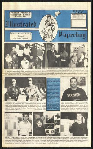 Primary view of Illustrated Paperboy (Cleveland, Tex.), Vol. 5, No. 52, Ed. 1 Wednesday, March 25, 1998