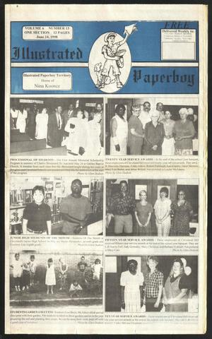 Primary view of Illustrated Paperboy (Cleveland, Tex.), Vol. 6, No. 13, Ed. 1 Wednesday, June 24, 1998