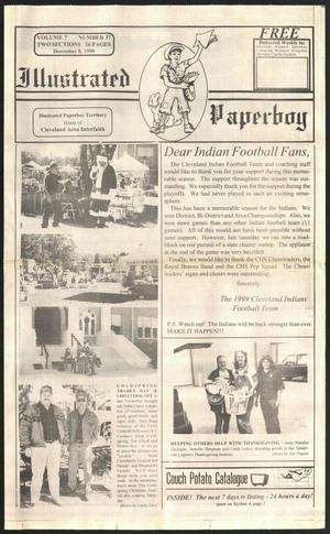 Primary view of Illustrated Paperboy (Cleveland, Tex.), Vol. 7, No. 37, Ed. 1 Wednesday, December 8, 1999