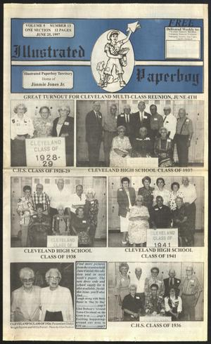 Primary view of Illustrated Paperboy (Cleveland, Tex.), Vol. 5, No. 13, Ed. 1 Wednesday, June 25, 1997
