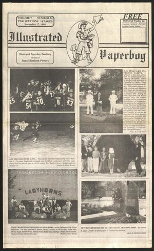 Primary view of Illustrated Paperboy (Cleveland, Tex.), Vol. 7, No. 34, Ed. 1 Wednesday, November 17, 1999