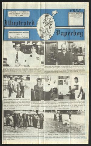 Primary view of Illustrated Paperboy (Cleveland, Tex.), Vol. 6, No. 17, Ed. 1 Wednesday, July 22, 1998