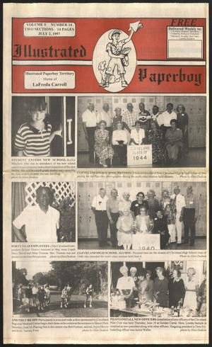 Primary view of Illustrated Paperboy (Cleveland, Tex.), Vol. 5, No. 14, Ed. 1 Wednesday, July 2, 1997