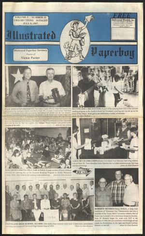 Primary view of Illustrated Paperboy (Cleveland, Tex.), Vol. 5, No. 15, Ed. 1 Wednesday, July 9, 1997