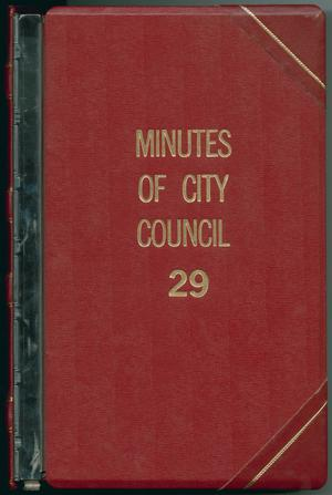 [Abilene City Council Minutes: 1988]