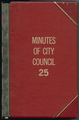 Primary view of object titled '[Abilene City Council Minutes: 1983-1984]'.