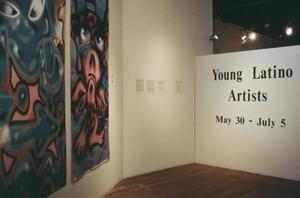 Young Latino Artists Exhibit Display, Young Latino Artists