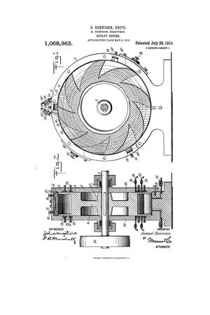 Primary view of object titled 'Rotary Engine'.