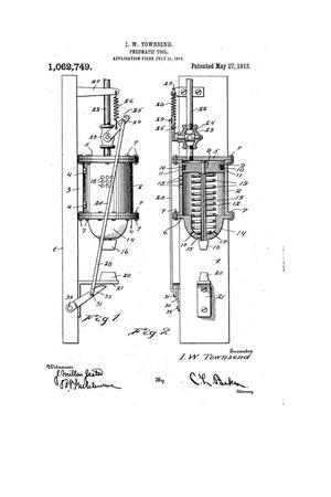 Primary view of object titled 'Pneumatic Tool'.