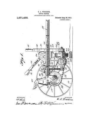 Primary view of object titled 'Cotton-Chopper.'.