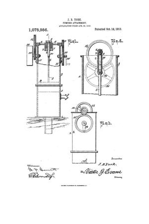 Primary view of object titled 'Pumping Attachment.'.
