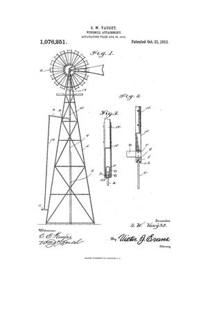 Primary view of object titled 'Windmill Attachment.'.
