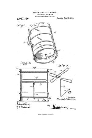 Primary view of object titled 'Flour Sifter and Mixer.'.