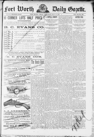 Fort Worth Daily Gazette. (Fort Worth, Tex.), Vol. 12, No. 290, Ed. 1, Wednesday, May 18, 1887