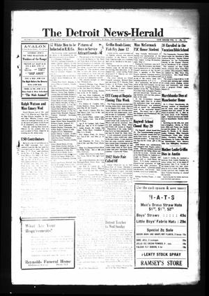 Primary view of object titled 'The Detroit News-Herald (Detroit, Tex.), Vol. 15, No. 10, Ed. 1 Thursday, June 4, 1942'.
