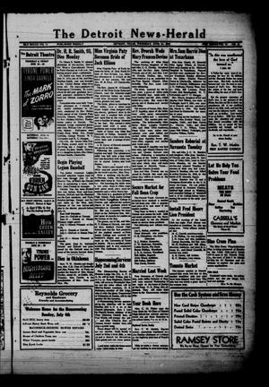Primary view of object titled 'The Detroit News-Herald (Detroit, Tex.), Vol. 20, No. 13, Ed. 1 Thursday, June 24, 1948'.