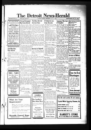 Primary view of object titled 'The Detroit News-Herald (Detroit, Tex.), Vol. 17, No. 20, Ed. 1 Thursday, August 17, 1944'.