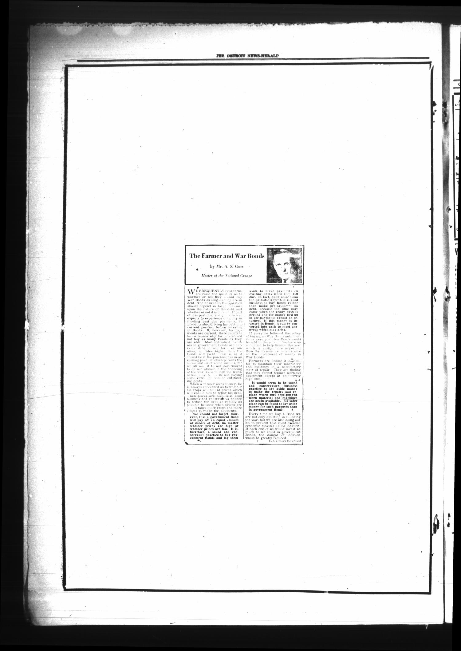 The Detroit News-Herald (Detroit, Tex.), Vol. 17, No. 20, Ed. 1 Thursday, August 17, 1944                                                                                                      [Sequence #]: 4 of 4