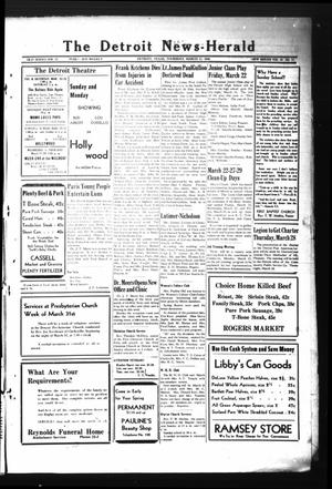 Primary view of object titled 'The Detroit News-Herald (Detroit, Tex.), Vol. 18, No. 51, Ed. 1 Thursday, March 21, 1946'.