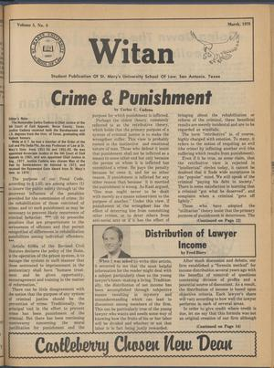 Witan (San Antonio, Tex.), Vol. 5, No. 8, Ed. 1 Wednesday, March 1, 1978