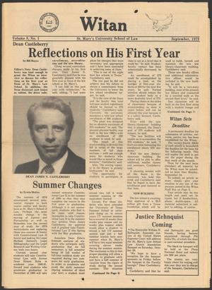 Witan (San Antonio, Tex.), Vol. 8, No. 1, Ed. 1 Saturday, September 1, 1979