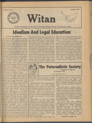 Witan (San Antonio, Tex.), Vol. 5, No. 3, Ed. 1 Saturday, October 1, 1977