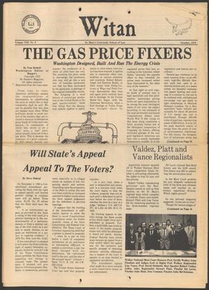 Witan (San Antonio, Tex.), Vol. 8, No. 2, Ed. 1 Monday, October 1, 1979