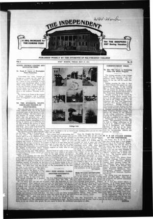 Primary view of object titled 'The Independent (Fort Worth, Tex.), Vol. 2, No. 28, Ed. 1 Saturday, May 27, 1911'.