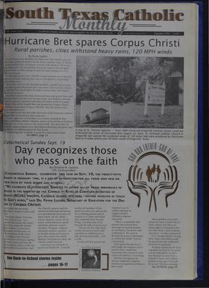 Primary view of object titled 'South Texas Catholic Monthly (Corpus Christi, Tex.), Vol. 34, No. 9, Ed. 1 Wednesday, September 1, 1999'.