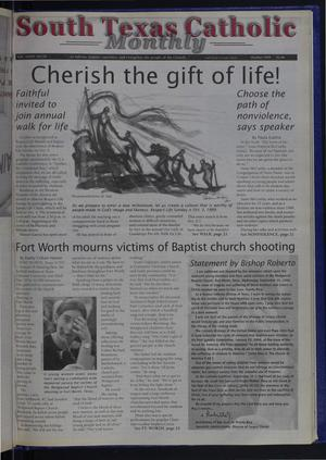 Primary view of object titled 'South Texas Catholic Monthly (Corpus Christi, Tex.), Vol. 34, No. 10, Ed. 1 Friday, October 1, 1999'.