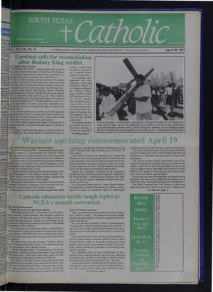 Primary view of object titled 'South Texas Catholic (Corpus Christi, Tex.), Vol. 28, No. 9, Ed. 1 Friday, April 30, 1993'.