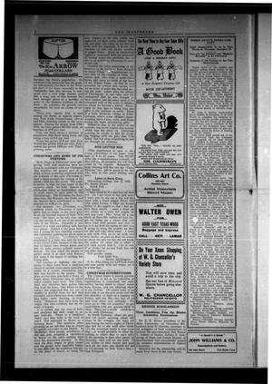 The Independent (Fort Worth, Tex.), Vol. [2], No. [15], Ed. 1 Saturday, December 10, 1910