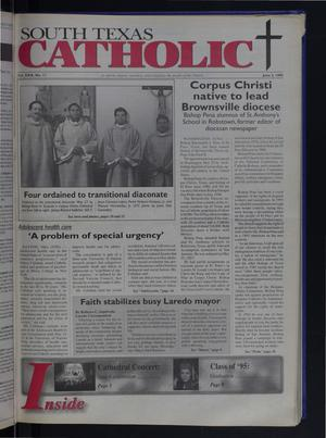 Primary view of object titled 'South Texas Catholic (Corpus Christi, Tex.), Vol. 30, No. 11, Ed. 1 Friday, June 2, 1995'.