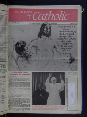 Primary view of object titled 'South Texas Catholic (Corpus Christi, Tex.), Vol. 27, No. 21, Ed. 1 Friday, May 22, 1992'.