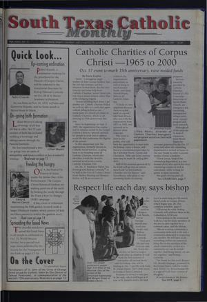 Primary view of object titled 'South Texas Catholic Monthly (Corpus Christi, Tex.), Vol. 35, No. 12, Ed. 1 Sunday, October 1, 2000'.