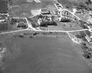 Primary view of object titled '[Aerial View of St. Edward's University]'.