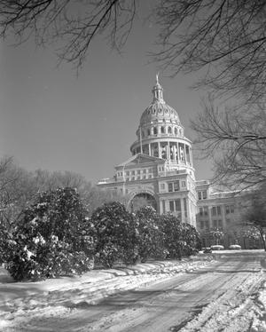 [Texas State Capitol Building in the Winter]