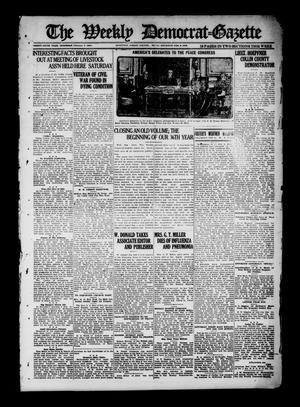 Primary view of object titled 'The Weekly Democrat-Gazette (McKinney, Tex.), Vol. 36, Ed. 1 Thursday, February 6, 1919'.