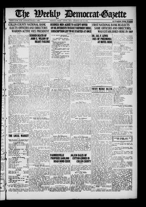 The Weekly Democrat-Gazette (McKinney, Tex.), Vol. 35, Ed. 1 Thursday, January 16, 1919
