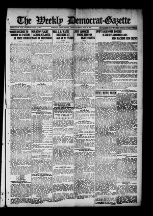 The Weekly Democrat-Gazette (McKinney, Tex.), Vol. 36, Ed. 1 Thursday, June 19, 1919