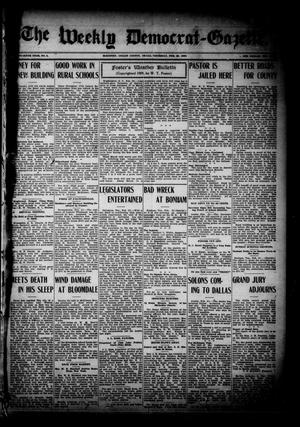 The Weekly Democrat-Gazette (McKinney, Tex.), Vol. 26, No. 4, Ed. 1 Thursday, February 25, 1909