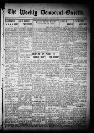 Primary view of object titled 'The Weekly Democrat-Gazette (McKinney, Tex.), Vol. 26, No. 15, Ed. 1 Thursday, May 13, 1909'.